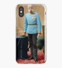 Emperor Franz Joseph 1885 iPhone Case