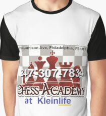 Chess Academy, Poster Graphic T-Shirt