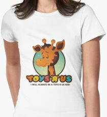 Toys R Us kids - RIP Women's Fitted T-Shirt