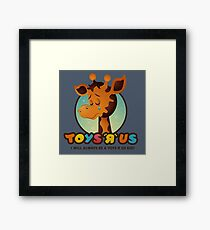 Toys R Us kids - RIP Framed Print