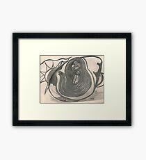 Mother Hearth and the seed Framed Print