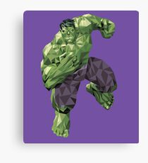 Smash! Canvas Print