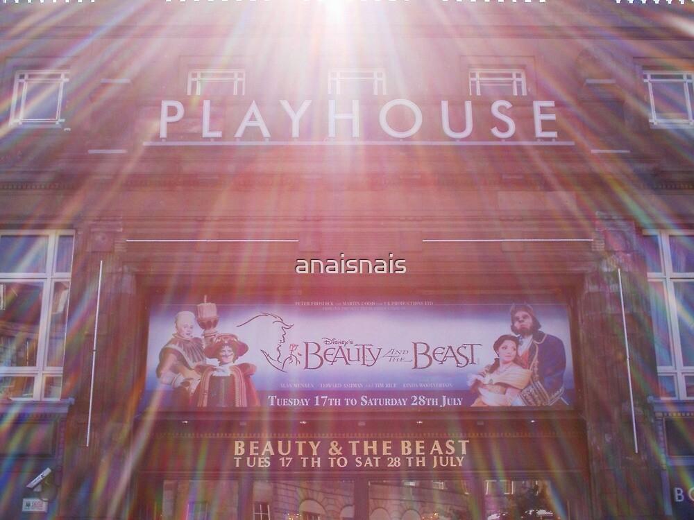 Theatre in lights - Edinburgh by anaisnais