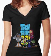 Titan Women's Fitted V-Neck T-Shirt
