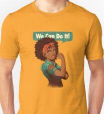 We Can Do It! Black Girl Black Queen Shirt V2 Unisex T-Shirt