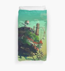 Studio Ghibli (howl's moving castle) Duvet Cover