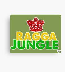 Ragga-Dschungel Ting Leinwanddruck