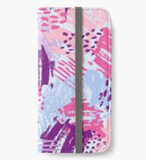 Cool bright brush iPhone Wallet/Case/Skin