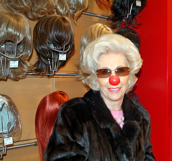 Red Nose, Carnival in Hamburg by Martin Langer