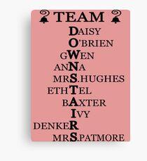 Team Downstairs (Girls) Canvas Print