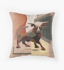The Bull Floor Pillow