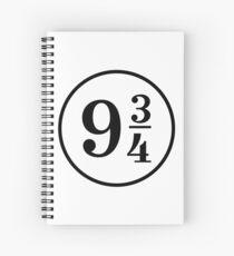 Platform Nine Three Quarters 9 3 4 Spiral Notebook