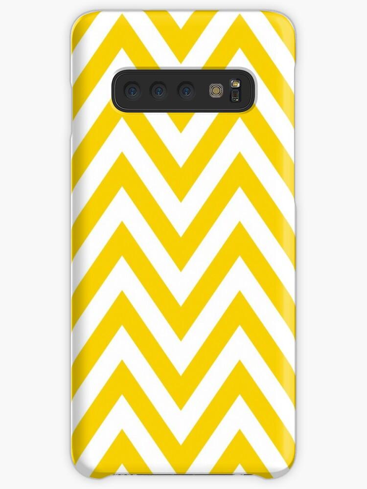 Yellow Chevron Pattern by MyArt23