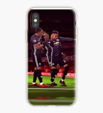 Jesse Lingard, Paul Pogba, Anthony Martial of Manchester United Milly Rock Goal Celebration iPhone Case