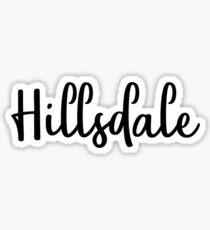 Hillsdale Sticker