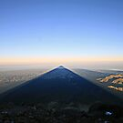Sunrise from Mount Taranaki by KateMatheson