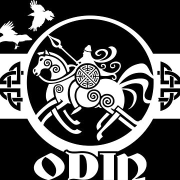 Odin Sleipnir / Wikinger / Vikings / White by norwik