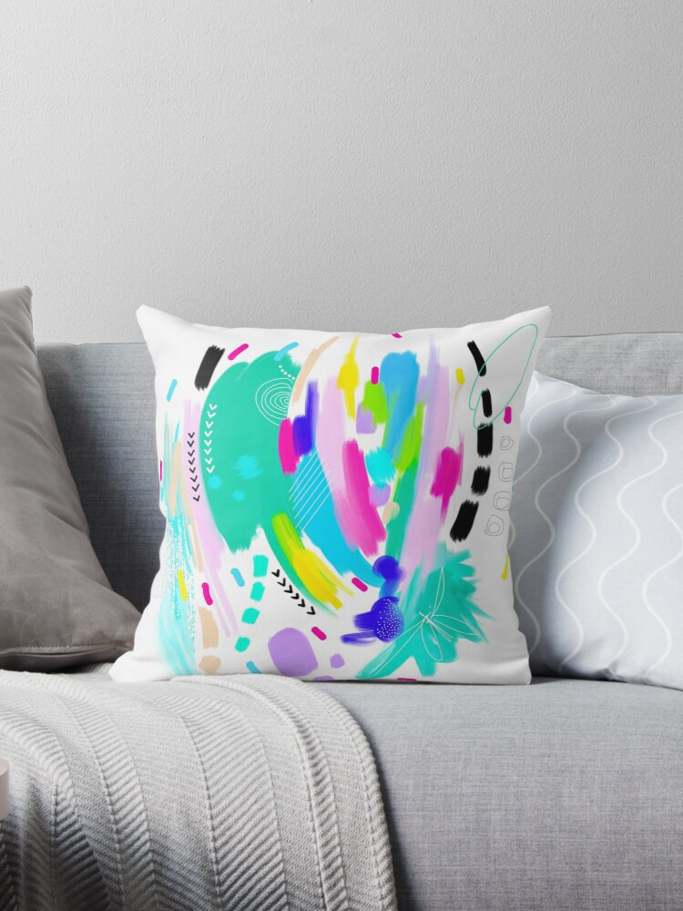Abstract Painting in Fun Colors by MyArt23