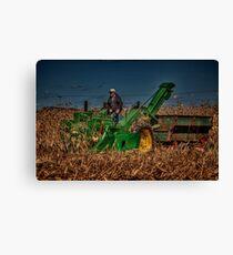 JD Corn Picker Canvas Print