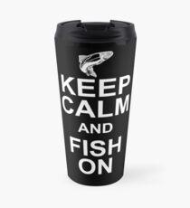 Fishing, Angling, Largemouth, Catching Fish, Bait, Lure, Salmon, Pike, Trout, Fly Fish, Fishing slogan Travel Mug