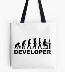 Evolution developer Tote Bag