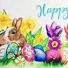 Happy Easter by Judith Selcuk