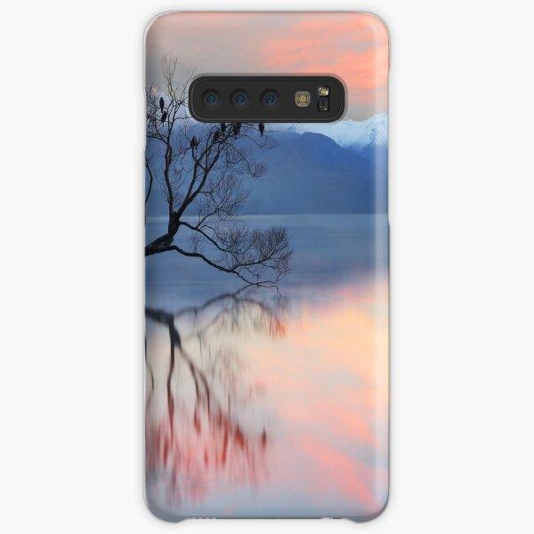 Pink Sky at Lake Wanaka Samsung Galaxy Snap Case