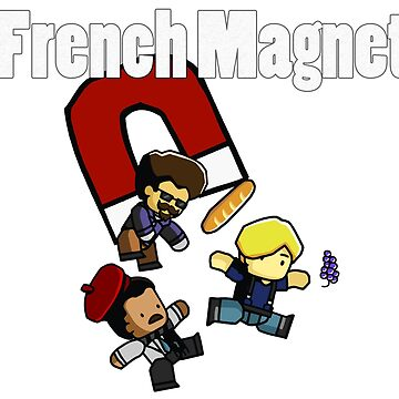 French Magnet by IceTigerKitten