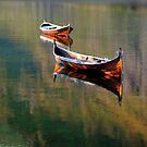 Two Boats on the Lake by Bente Agerup