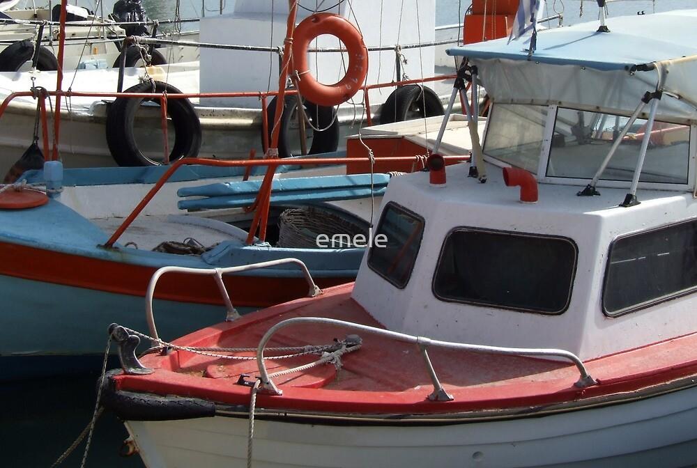 Fishing Boats by emele