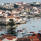 View of Illa de Arousa by Yamil Doval Dios