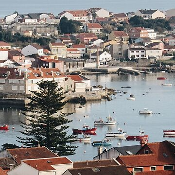 View of Illa de Arousa by yamiyuuuu