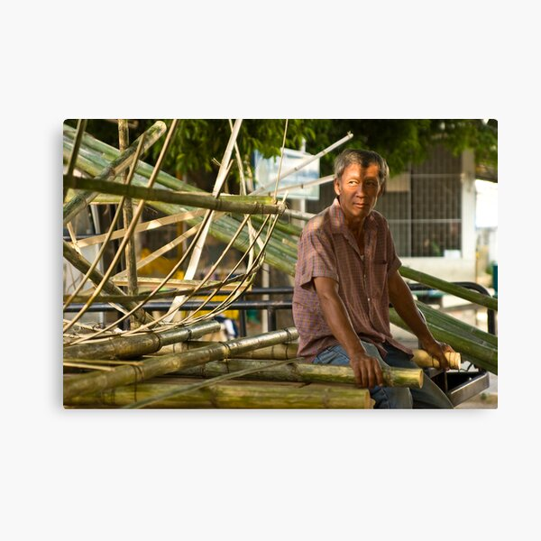 The boat maker Canvas Print