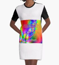 My Life Has Great Value To Myself An Others Graphic T-Shirt Dress
