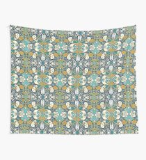 Teal Antique Wall Tapestry