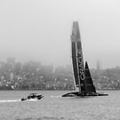 Oracle Team USA in San Francisco Bay by Kasia-D