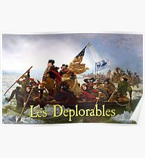Les Deplorables Crossing the Delaware Poster