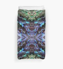 Abalone Abstract Duvet Cover