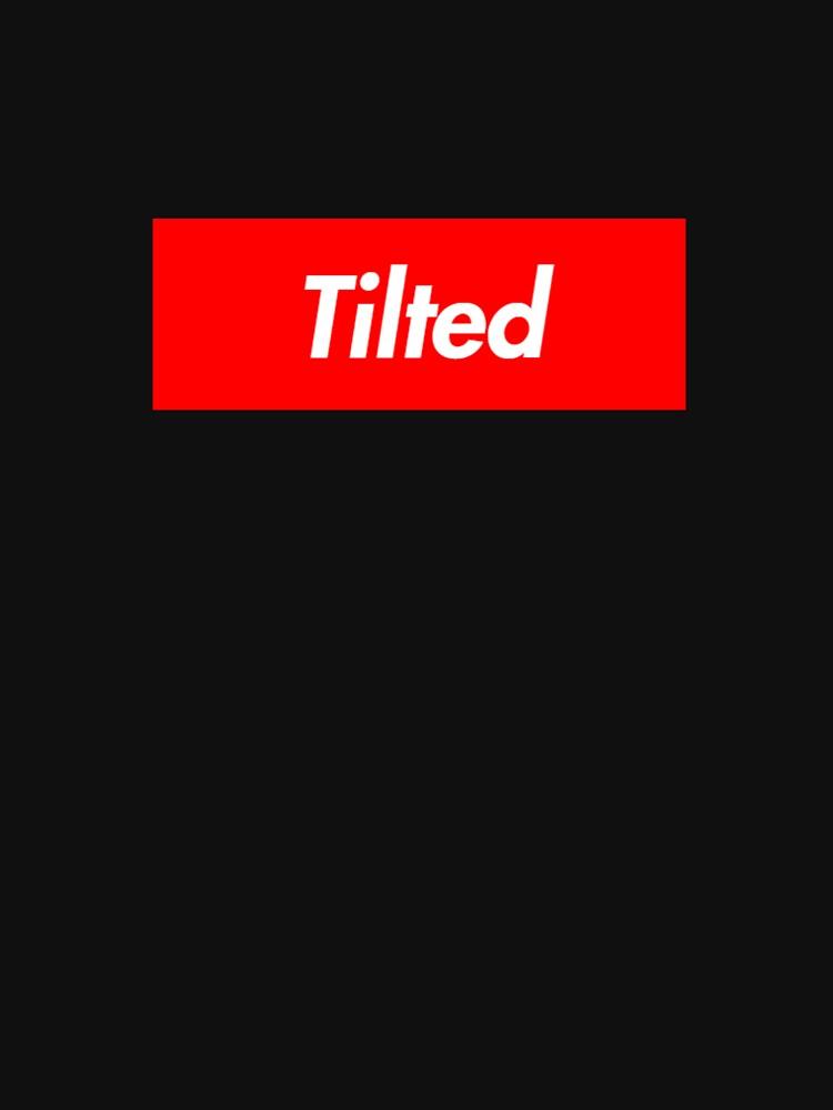 Camiseta Tilted Towers de BluLyon