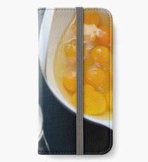 Quiche Ingredients iPhone Wallet/Case/Skin