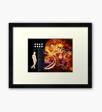 Open The Door To Time Travel Framed Print