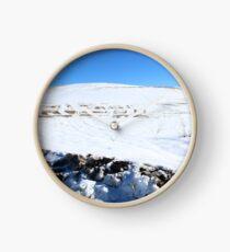 Snow Field Clock