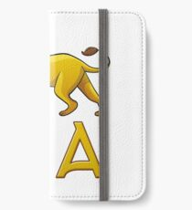 Kia Lion Drawstring Bags iPhone Wallet/Case/Skin