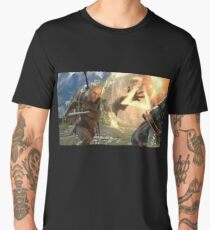 Geralt Soul Calibur 6 Men's Premium T-Shirt