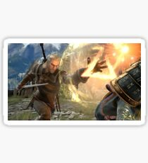 Geralt Soul Calibur 6 Sticker