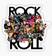Rock And Roll Sticker