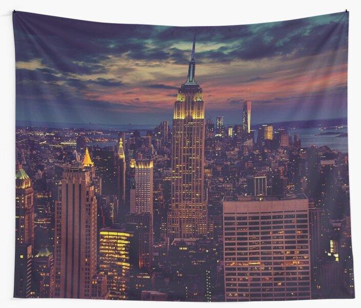 «Skyline de la ciudad de Nueva York» de jimmywatt