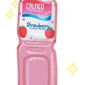 Strawberry Calpis by ichigobunny