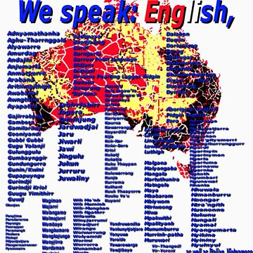 We Speak English by ArchieMoore