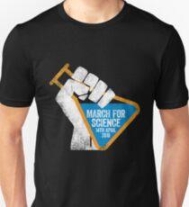 Camiseta unisex Marcha por la Ciencia 2018